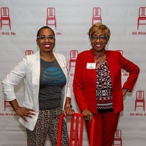 Sit with Me at the Red Chair Atlanta Event.