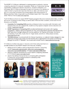 One-Pager: K-12 Alliance