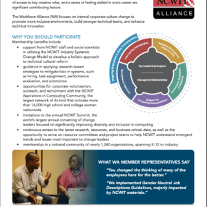 One-Pager: Workforce Alliance