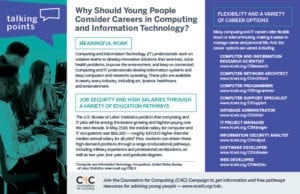 Why Should Young People Consider Careers in Computing and Information Technology?