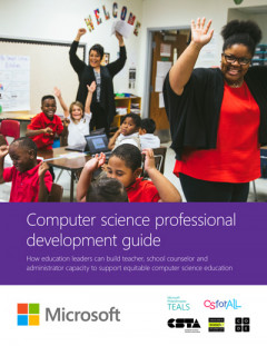 Small image of workbook cover with teachers and students celebrating