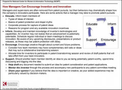 Resources for Increasing Participation and Transparency in Patenting