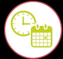 tip worklifee mployees clock calendar icon