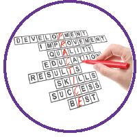 tips student growth stock photo crossword