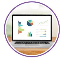tips corporate websites laptop graphs photo