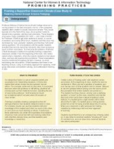 How Do You Retain Women Through Inclusive Pedagogy?