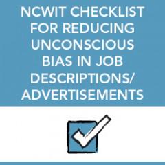 checklist bias job descriptions Cover