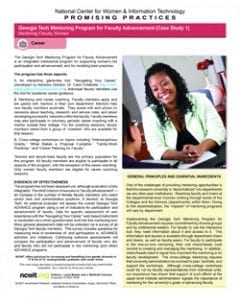 How Do You Mentor Faculty Women?