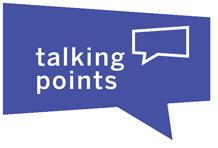 Talking Points Bubble Graphic