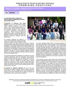 How Do Admissions Criteria Affect Women's Representation in Graduate Computing?