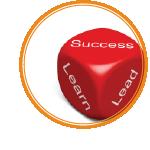 success learn leadership cube