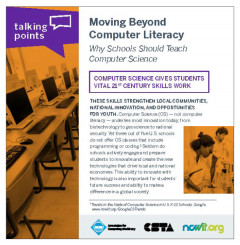talking points moving beyond computer literacy Cover