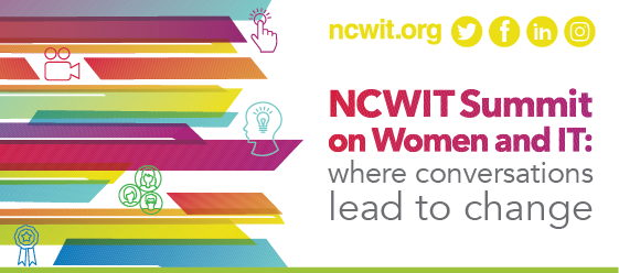 2018 NCWIT Summit: Save the Date