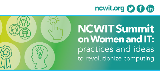 2016 NCWIT Summit: See You There!