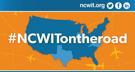 #NCWITontheroad