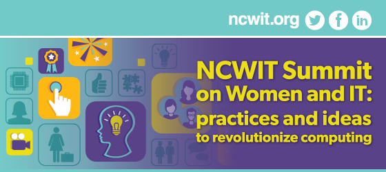 2015 NCWIT Summit: Join in!