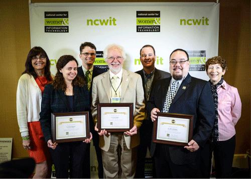 2014 NCWIT Undergraduate Research Mentoring Award Winners