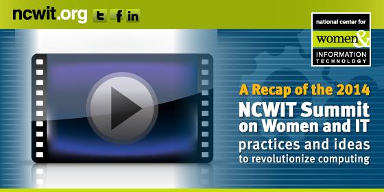 2014 NCWIT Summit: A Recap