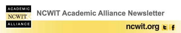 NCWIT Academic Alliance Newsletter