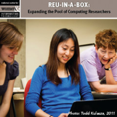 small image of resource cover showing students excited about materials