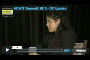 NCWIT 2012 Summit - DC Update