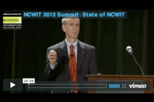 NCWIT 2012 Summit - State of NCWIT