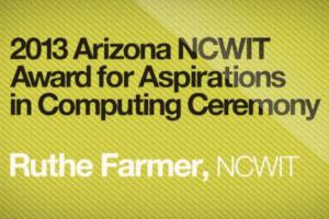 2013 NCWIT Summit - NCWIT Award for Aspirations in Computing Ceremony (Arizona)