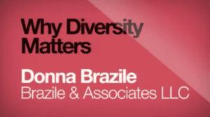 2014 NCWIT Summit - Plenary III, Why Diversity Matters by Donna Brazile