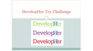 2014 NCWIT Summit - Special Announcement, DevelopHER Toy Challenge
