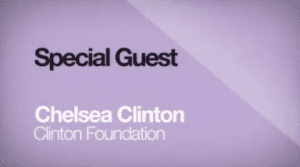 2014 NCWIT Summit - Special Guest Chelsea Clinton, Vice Chair of the Clinton Foundation