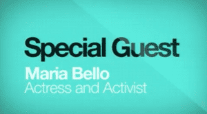 2014 NCWIT Summit - Special Guest Maria Bello, Actress and Activist