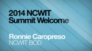 2014 NCWIT Summit - Welcome