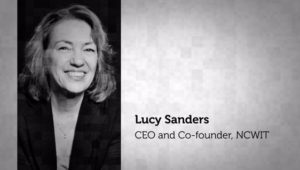 Headshot Lucy Sanders CEO and Co-founder of NCWIT