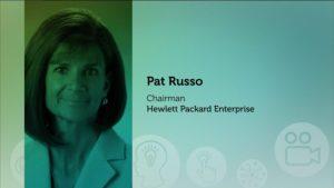 Headshot of Pat Russon Chairman at Hewlett Packard Enterprise