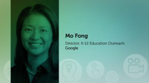 Headshot of Mo Fong Director, K-12 Education Outreach with Google