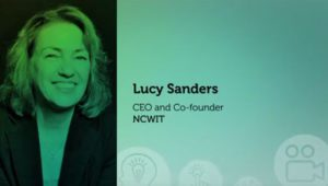 Headshot of Lucy Sanders, CEO and Co-Founder NCWIT