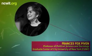 2017 NCWIT Summit - Plenary I, The New Women's Movement by Frances Fox Piven