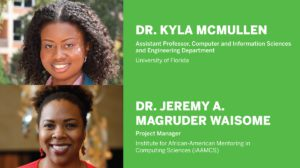 2019 NCWIT Summit: Dr. Kyla McMullen and Dr. Jeremy A. Magruder Waisome - Modern Figures Podcast