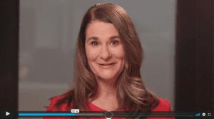 Melinda Gates video still