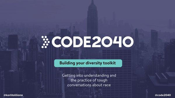 "2017 NCWIT Summit - ""Building Your Diversity Toolkit"" Workshop by Karla Monterroso"