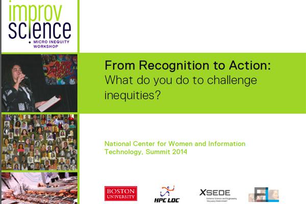 2014 NCWIT Summit – Workshop Slides by Raquell Holmes
