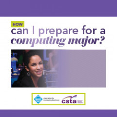 How can I prepare for a computing major?